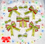 Gingerbread man bows by zammap