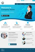 Website template 2 by shelaghcully