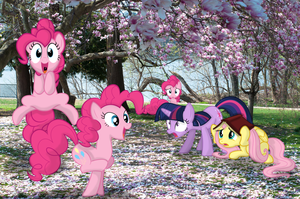 AT : Attack of  the Pinkie Pie! [PIRL] by AppleandMuffin