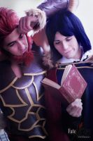 Waver And Rider Cosplay - The Perfect Team by DakunCosplay