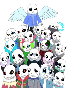 Another many sans Au by AshleyFluttershy
