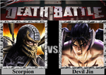 Scorpion vs Devil Jin by MetalReaper