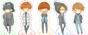 [STANDEE] B1A4 - Lonely by jaljello