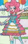 Lolita Pinkie Pie Print by PonyGoddess