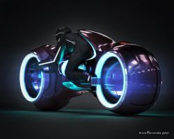 tron light cycle by teamgandaia3