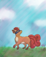 Vulpix by Bapazu