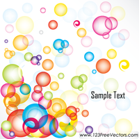 Abstract Colorful Background Vector by 123freevectors