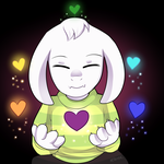 Undertale - Asriel by keterok