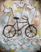 Peace Love and Bicycles by usartdude