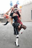 Steampunk Harley Cosplay by Jessica Nigri by RonGejon