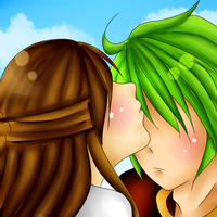 CLAC: Kiss on the forehead by Blue-Shine-Star