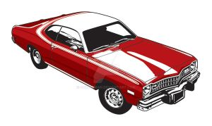 1973 Dodge Dart Sport by CRWPitman