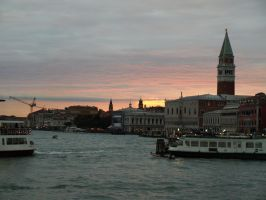 Venice at sunset 2 by Teeno2007