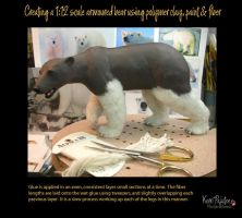 Creating a 1:12 scale armoured bear #10 by Pajutee
