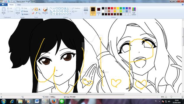 W.I.P : FOR MY LINE GROUP [MY BESTIES GROUP] by KirisakiCreamy