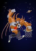 Transformers Unicron by Eyemelt