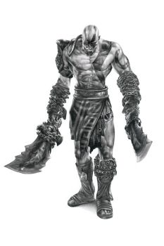 Kratos by ca5per