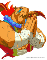 Breath Of Fire III Garr Paint by Esperino