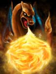 Charizard by lunar-lullaby