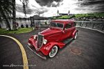 red chevy sedan hot rod by AmericanMuscle