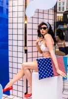 Stars and Stripes Mannequin by deepgrounduk