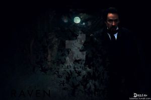 The Raven Wallpaper by daniacdesign