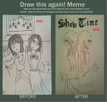 before and after meme by Ondonn