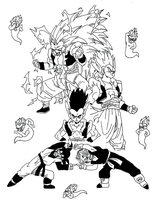 Fusion - Gotenks by StEML
