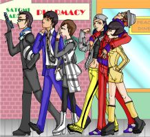Persona 2- Walking by YoaKeDAX