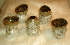 "Stoneware ""Cups"" by chibianne"