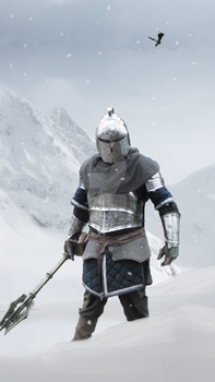 Lord of Winter Mountain by WargusEstor