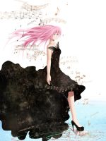 Megurine Luka - Shell by fantazyme