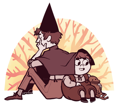 more Over the Garden Wall by SIIINS