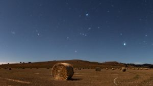 Make Hay While The Moon Shines by CapturingTheNight