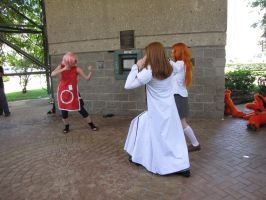 A-Kon 21 Bleach vs. Naruto 02 by FlowerNinjaA