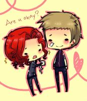 hawkeye x black widow :3 by ritsuneko69