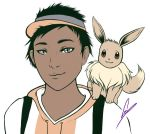 Khalid and Eevee by feyke
