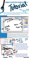 Painter Essentials 4 Tutorial by Srg-Fuery