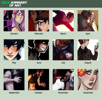 2014 Summary Of Art by L0UDST