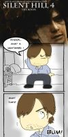 Silent Hill 4 - Comic by kerissakti