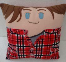 Handmade Supernatural Sam Winchester Pillow by RbitencourtUSA