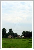 Farms in Holland by Harregarre