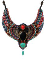 Scarab Egypt inspired necklace by AniDandelion