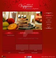 Vapyano Syria Restaurant website by hady-sh