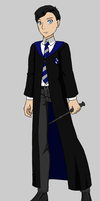 Nathan West in Hogwarts by Dorothy64116