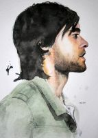 Leto in watercolour and ink by ihni
