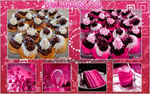 #-Pink Paradise PSD. by differentfeelings