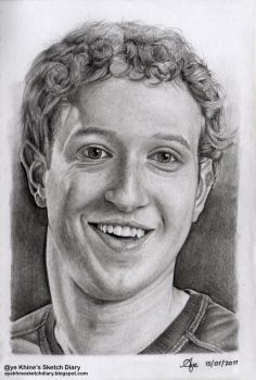 Mark Zuckerberg by ayekhine