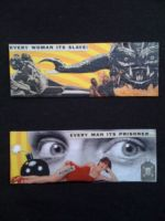 Sci Fi Violence Magnets by kidswithscissors