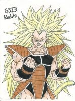 SSJ3 Raditz by SquareFanatic